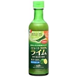 メキシコ産ライム果汁290ml ストレート100%果汁 香料・保存料不使用のミステリー