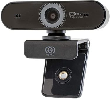 危ういGOPPA ウェブカメラ オートフォーカス機能搭載 フルHD 200万画素 1920×1080対応 マイク内蔵 GP-UCAM2FA/E