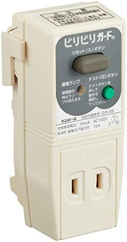 ちょっといいテンパール ビリビリガード プラグ形漏電遮断器 (04-3213)