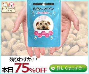 だから快適!小型犬用スキンケアサプリ【ビオワンファイン】